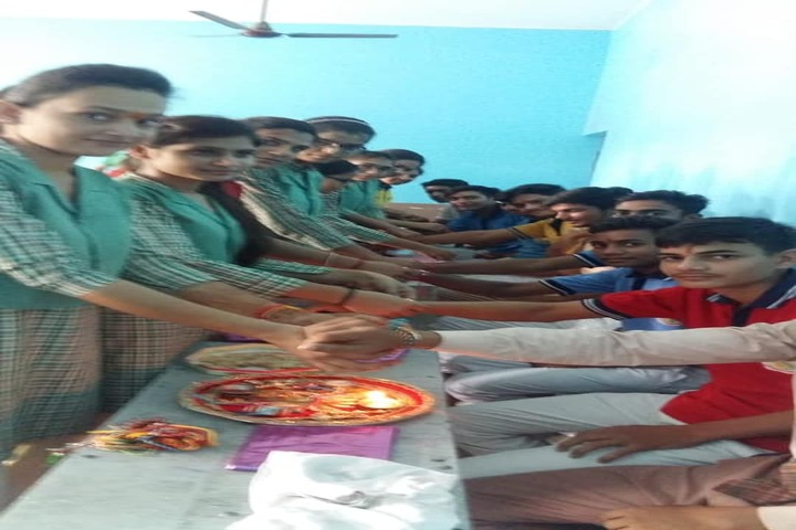 R S Memorial Olympian Public School-Rakhi Celebrations