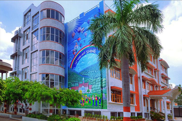 Radha Govind Public School-Building
