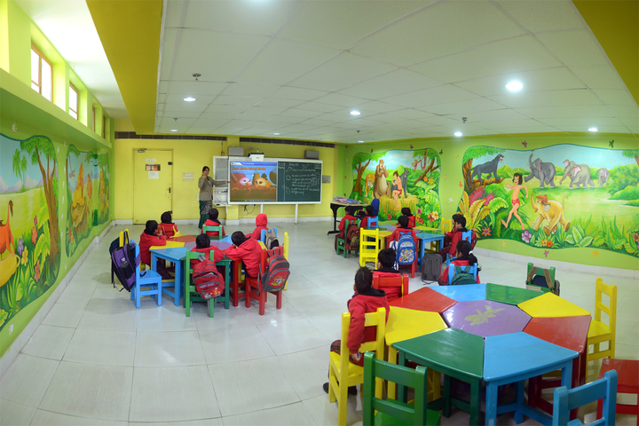 Radha Govind Public School-PrePrimary Classroom