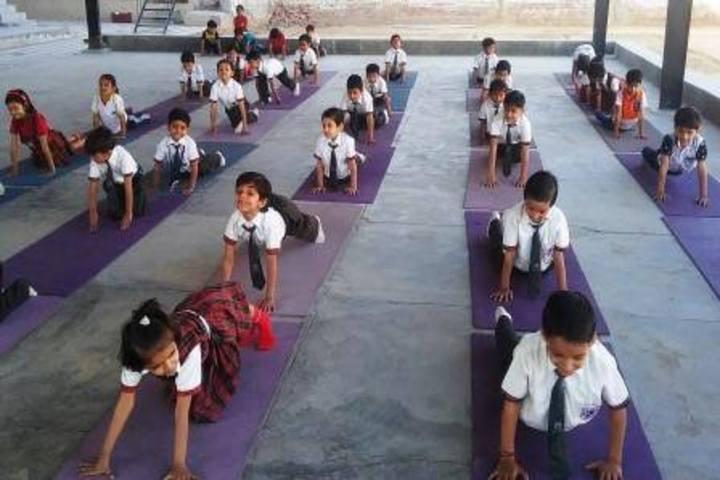 Radha Govind Public School-Yoga Classes