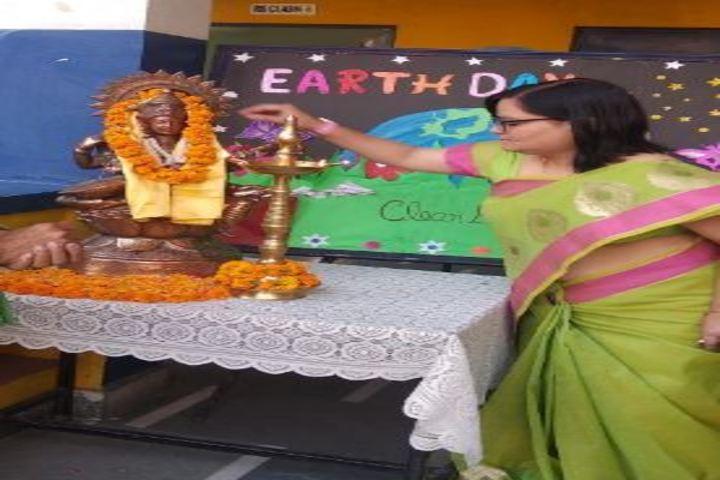 Radha Krishna Public School-Earth Day