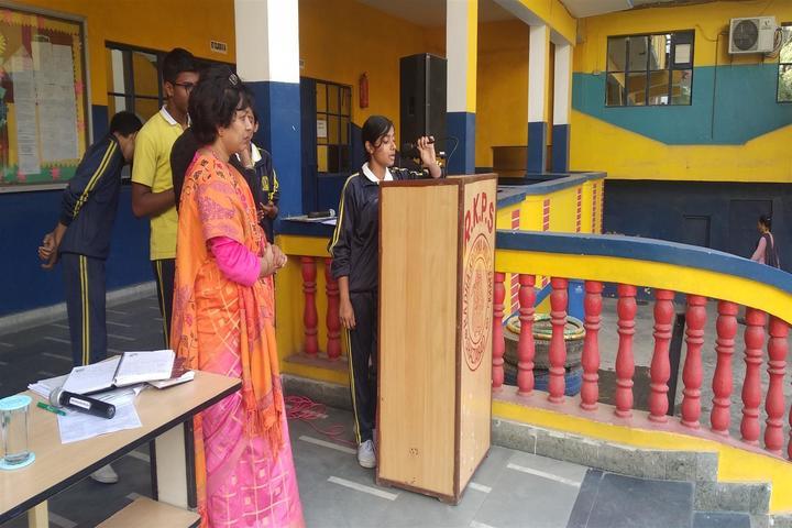 Radha Krishna Public School-Singing