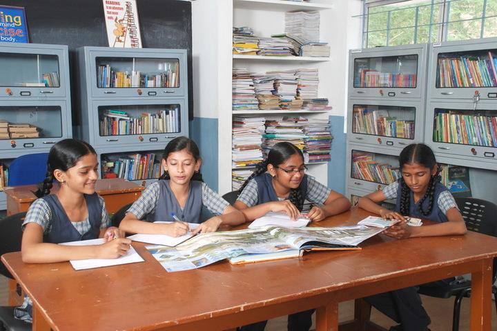 Raheemia Public Junior High School-Library