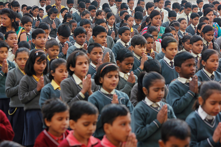 Rahul International Public School-Assembly