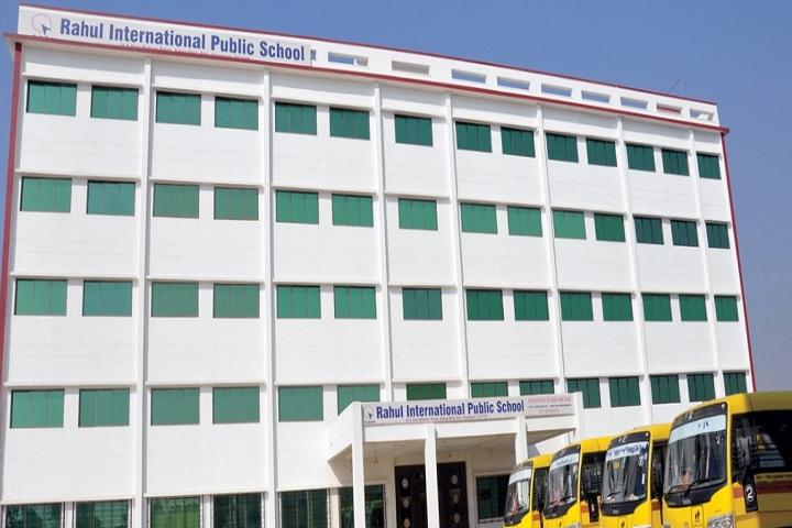 Rahul International Public School-Building