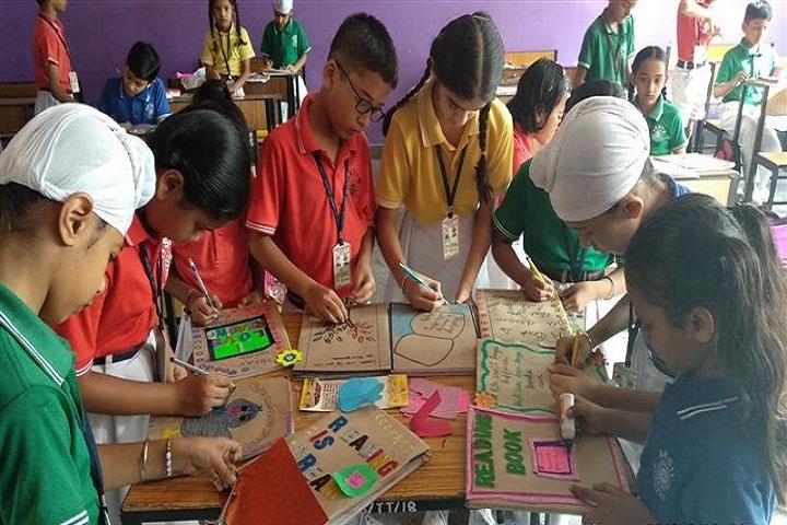 Ajit Karam Singh International Public School-Art and Craft