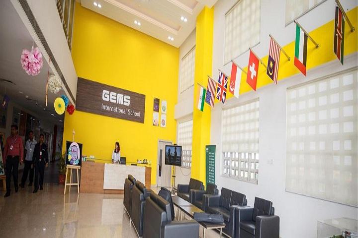 Gems School-School Reception