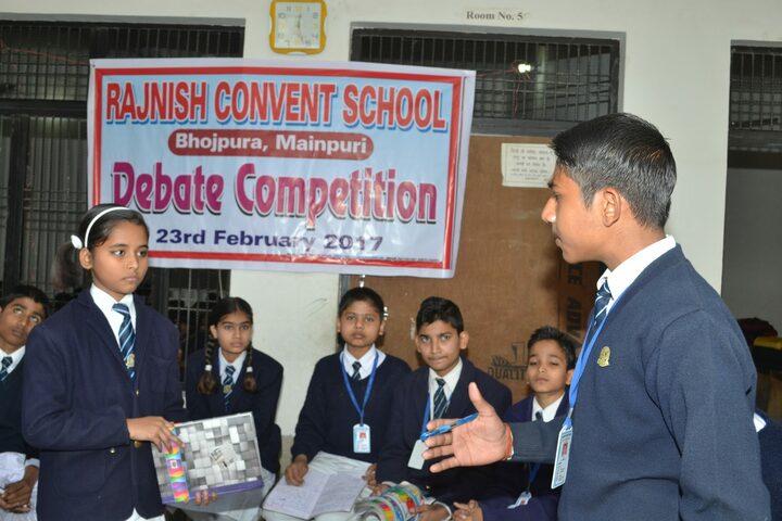 Rajnish Convent School-Debate Competition