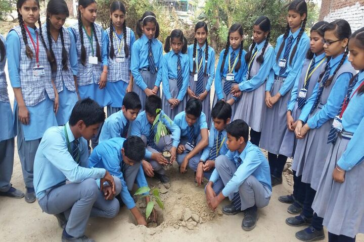 Rajnish Convent School-Plantation