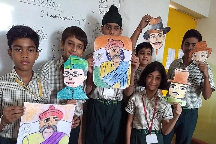 Ashiana Public School-Art