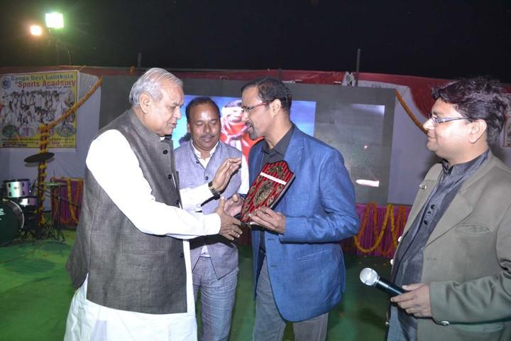 Ram Lakhan Bhatt International School-Felicitation