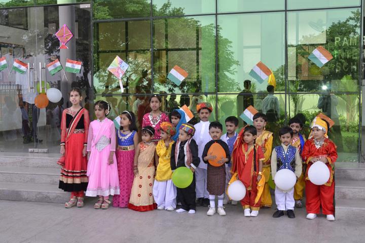 Rama Devi International School-Independence Day
