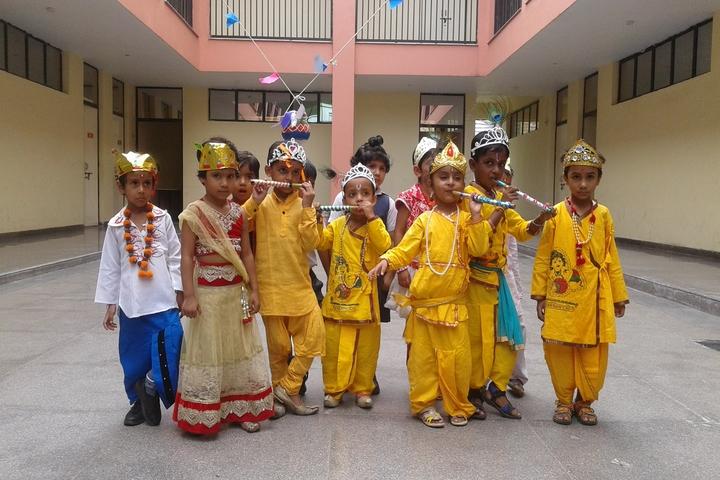Rama Devi International School-Janmashtami