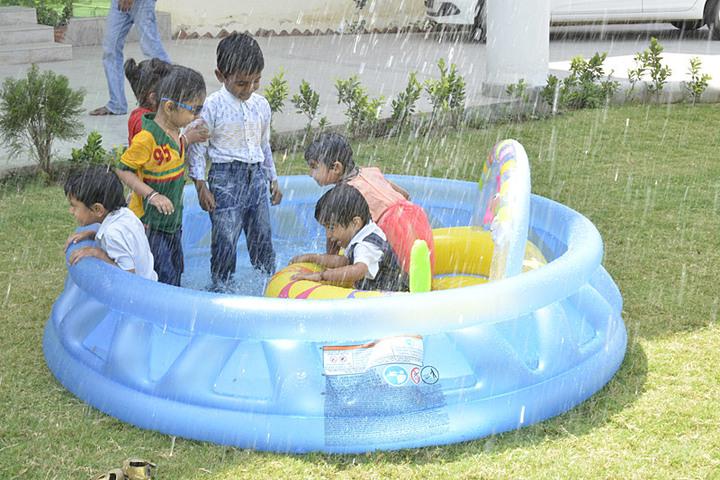 Rama Devi International School-Pool Party