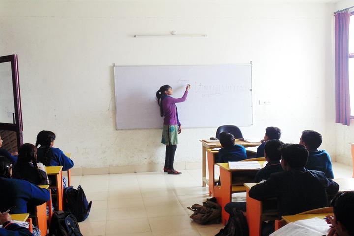 Ramanlal Shorawala International School-Classroom