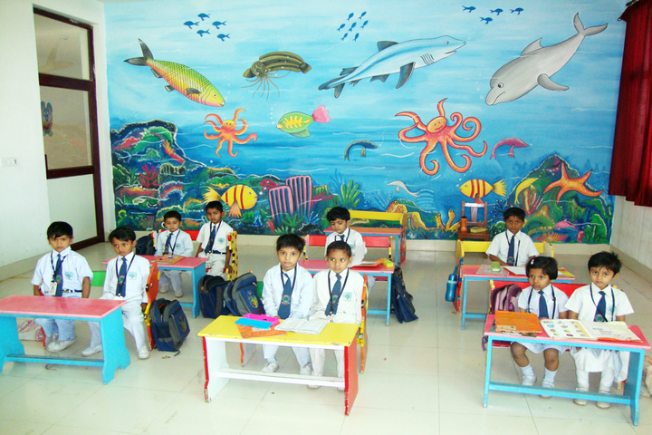 Ramanlal Shorawala International School-Pre Primary Classroom