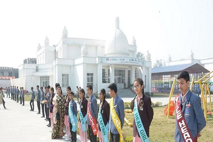 Rampur Public School-Investiture Ceremony