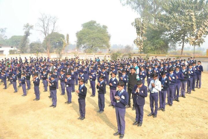 Ranbir International School-Assembly