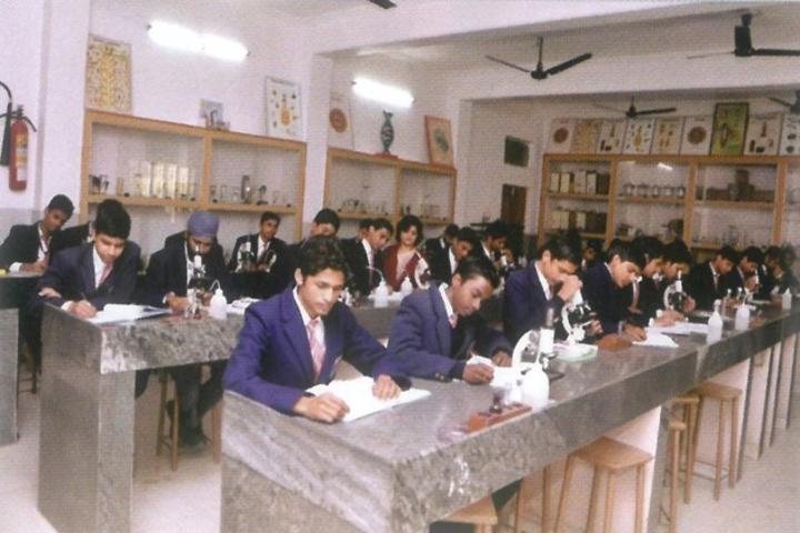 Rani Laxmi Bai Memorial School-Biology Lab