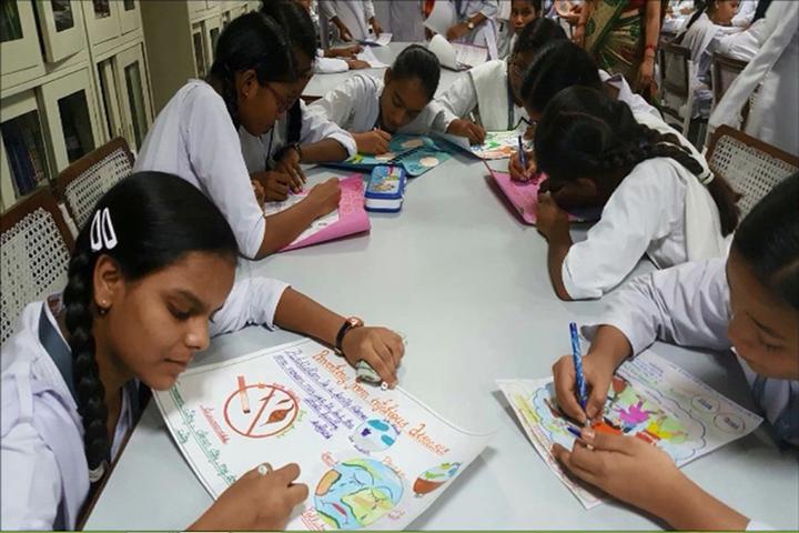 Rani Laxmi Bai Memorial Senior Secondary School-Drawing Competition