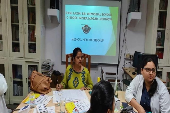 Rani Laxmi Bai Memorial Senior Secondary School-Health Checkup