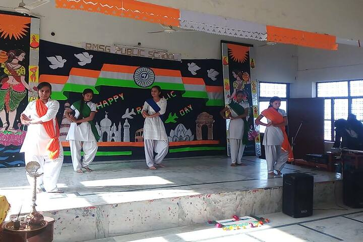 Rashtrakavi Maithili Sharan Gupt Public School-Republic Day