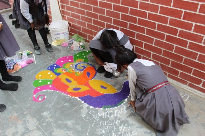 Rasphil Academy-Rangoli Making