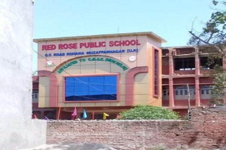 Red Rose Public School-School View