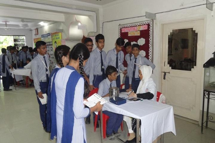 Red Rose Senior Secondary School-Medical Camp