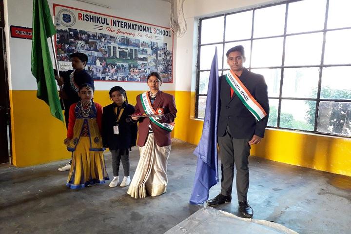 Rishikul International School-republic day celebration
