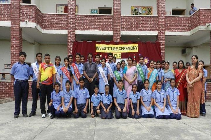 Rockwood Senior Secondary School-Investitude ceremony
