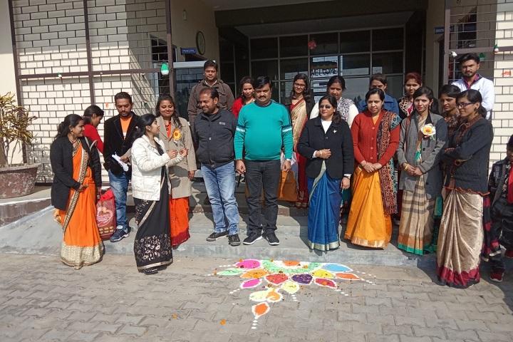 Rose Valley Public School-Rangoli Competition