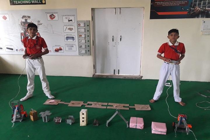 Rose Valley Public School-Robotic day