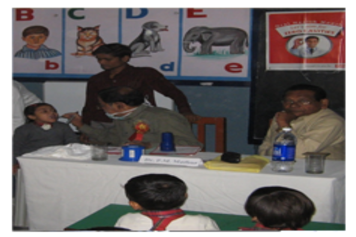 Rosy Public School- Health chekup