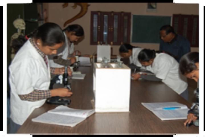 Rosy Public School- biology lab