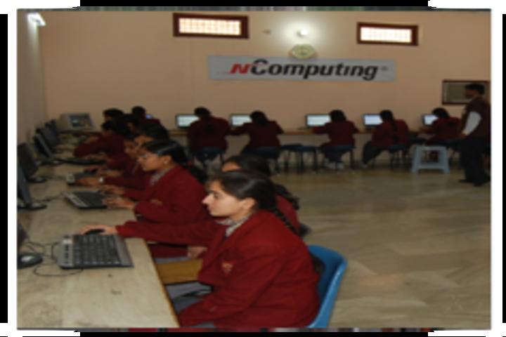 Rosy Public School- computer lab