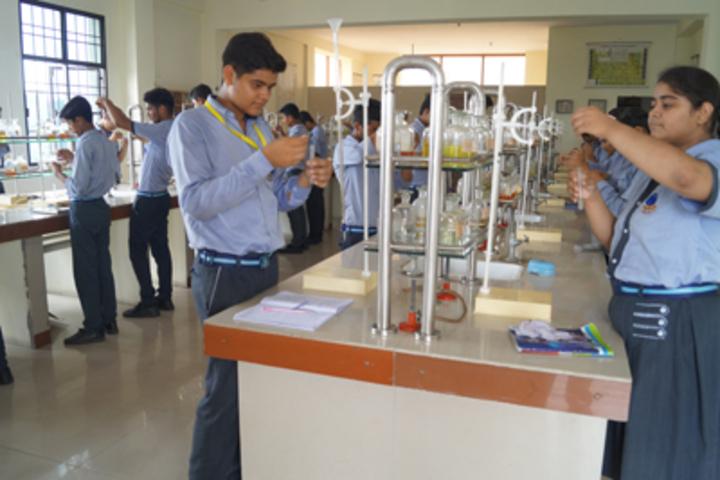 Royal Public School- Chemistry lab
