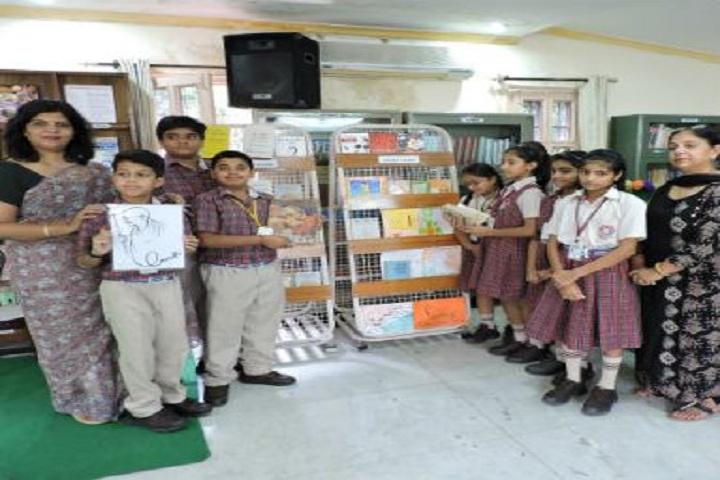 D A V Model School-Exhibition