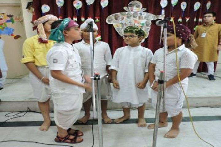 D A V Model School-Singing