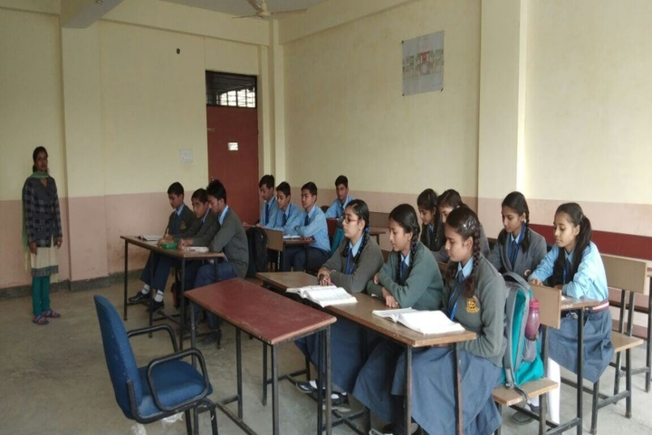 S A V Inter College-classroom