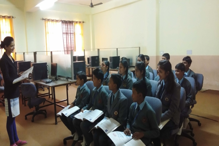 S A V Inter College-computer lab