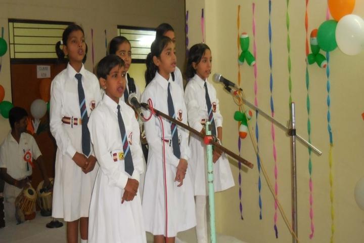 S A V Inter College-singing