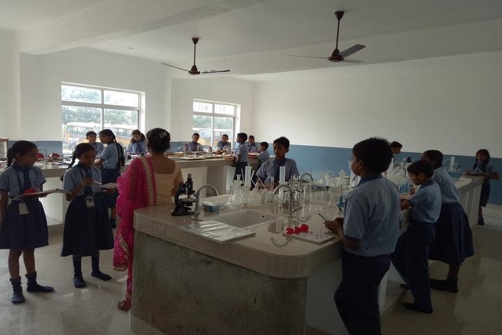 S D Mother International School- Science lab