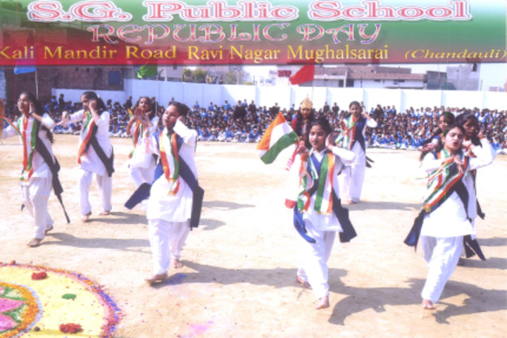 S G Public School-Republic day