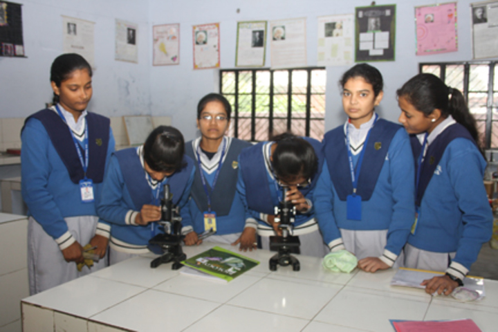 S G Public School-Science lab