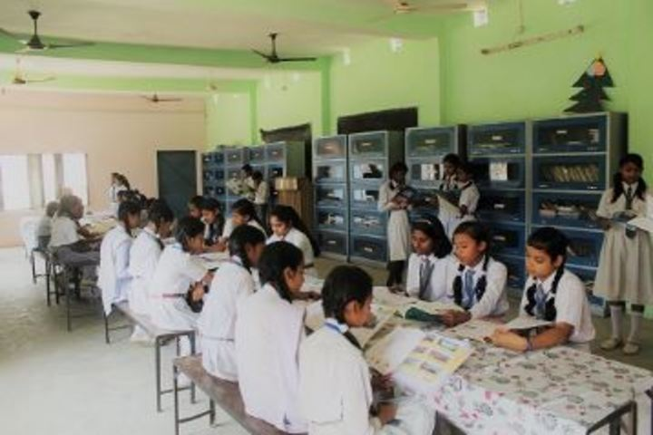S P Convent School - Library