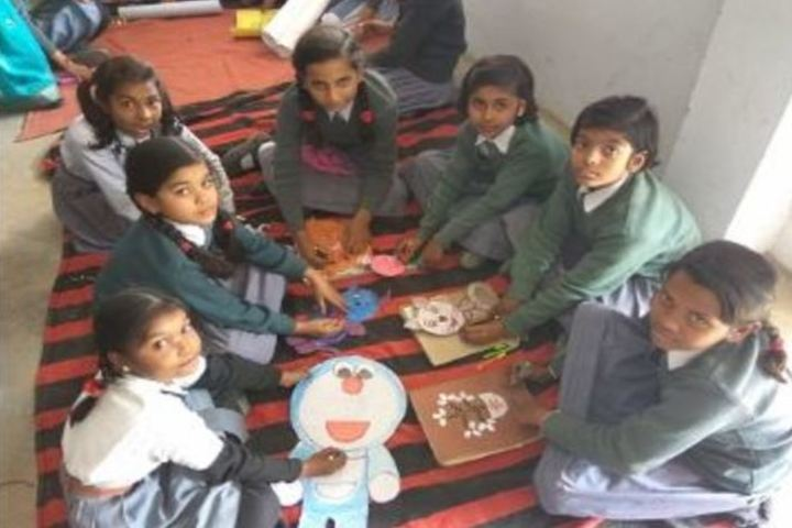 S P Convent School-Art and Craft