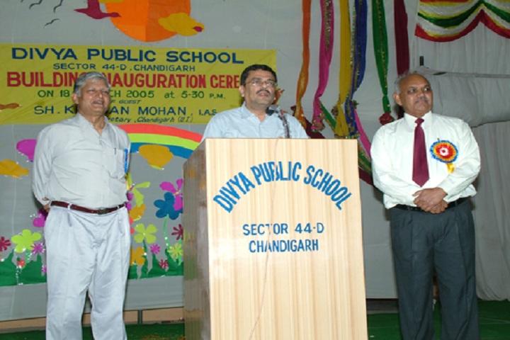 Divya Public School-Speaker