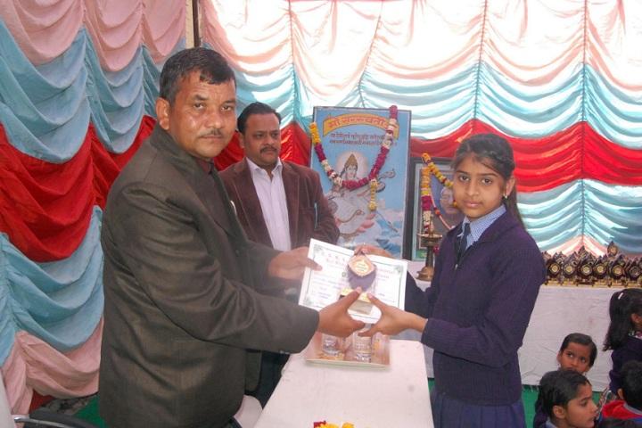 S S Kanhaiya Lal Aggarwal Memorial Bal Vidya Mandir-Certificate Distribution