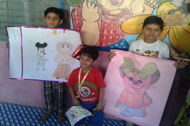 S S Kanhaiya Lal Aggarwal Memorial Bal Vidya Mandir-Childrens Art work